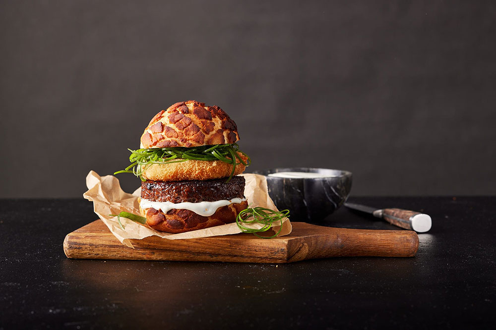 New meat burger