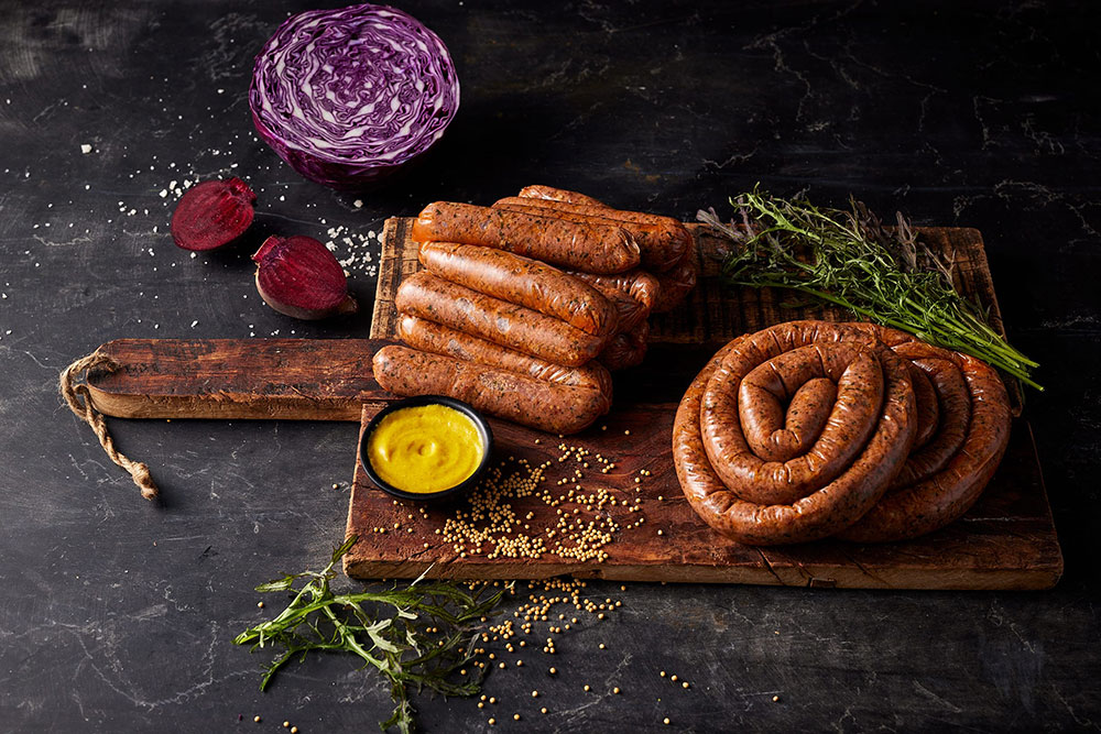 New meat sausage